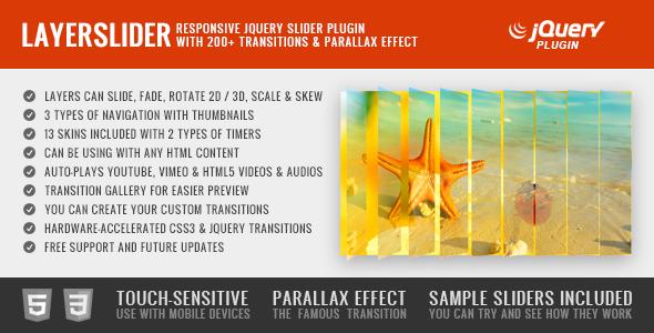 LayerSlider - Responsive jQuery Slider Plugin